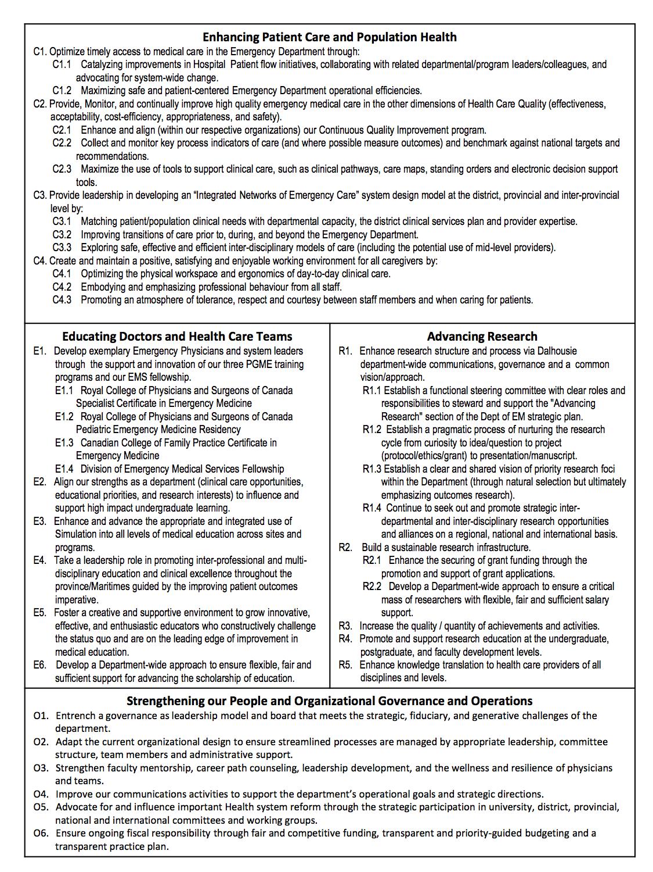 DEM Strategic Planning Summary - July 11 2013 b