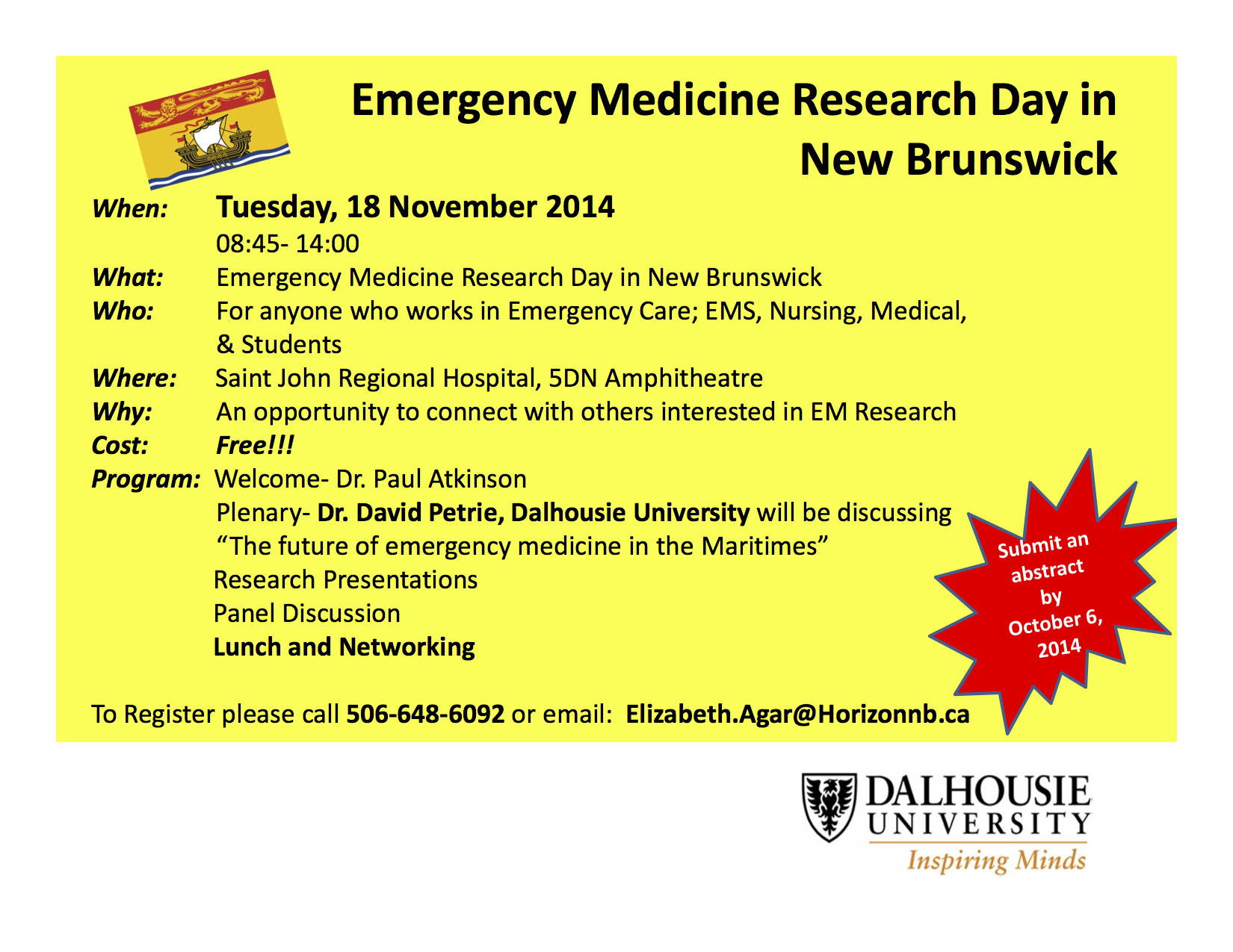 SJEM Research Day