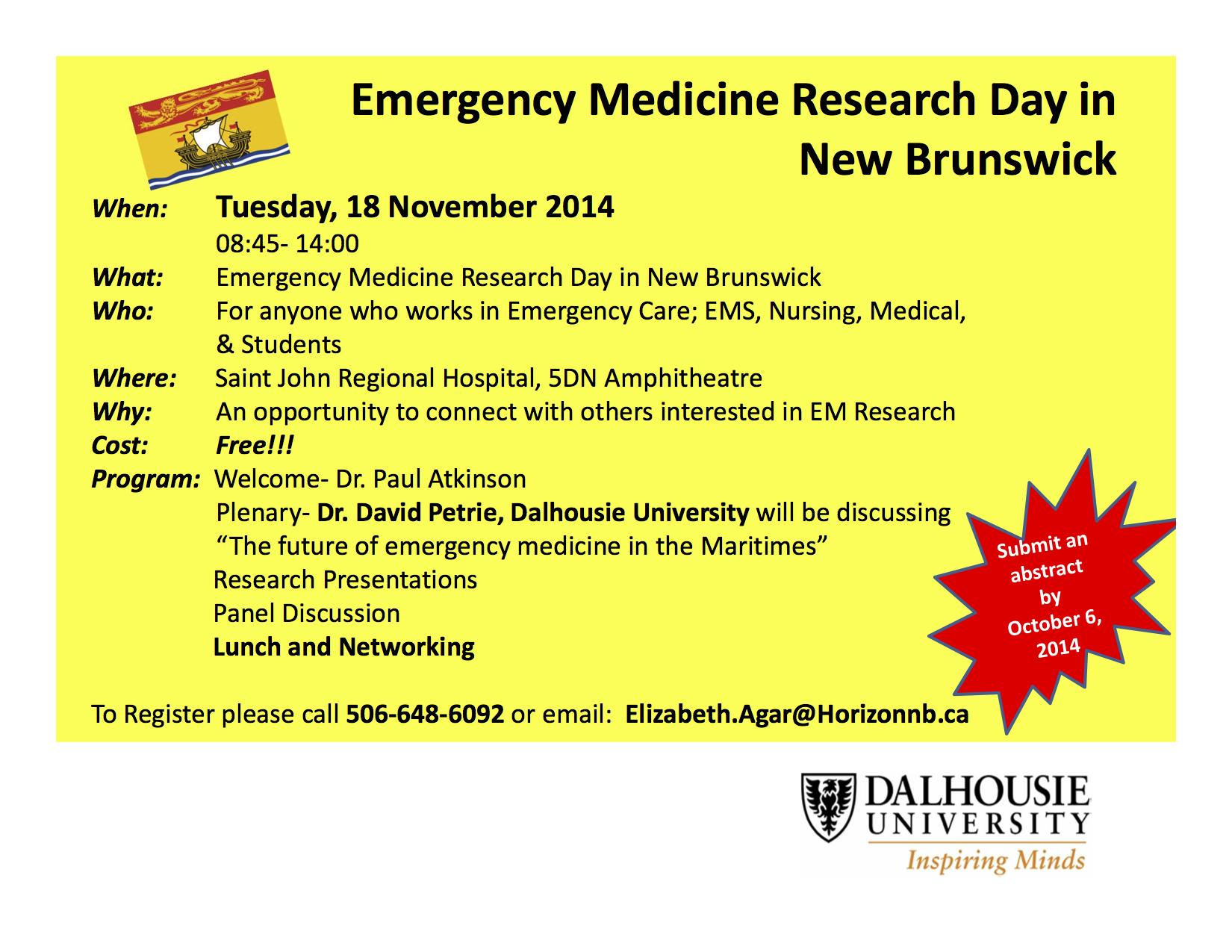 SJEM Research Day