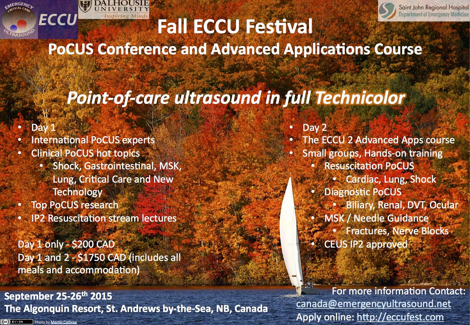 Combined FECCU | Department of Emergency Medicine | Saint John
