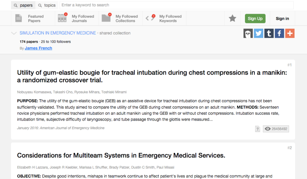 Papers_in_the_shared_collection_Simulation_in_Emergency_Medicine___Read_by_QxMD