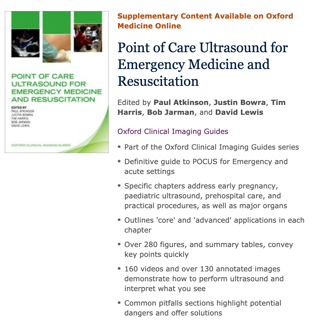 ECCU 1 – Course Application | Department of Emergency Medicine